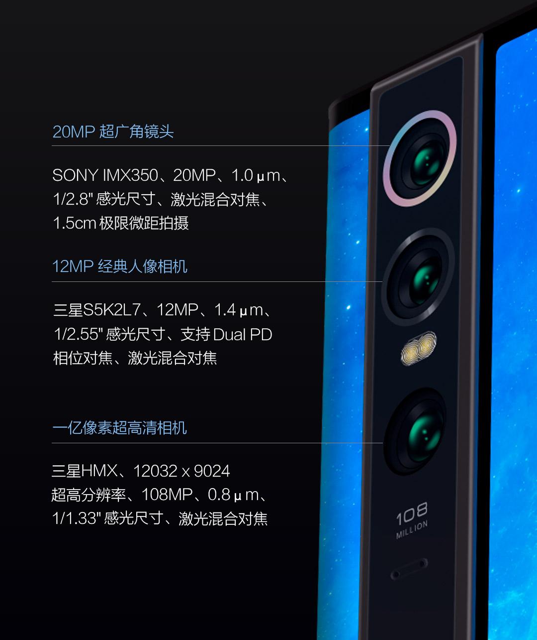 Xiaomi Mi Mix Apha trasera