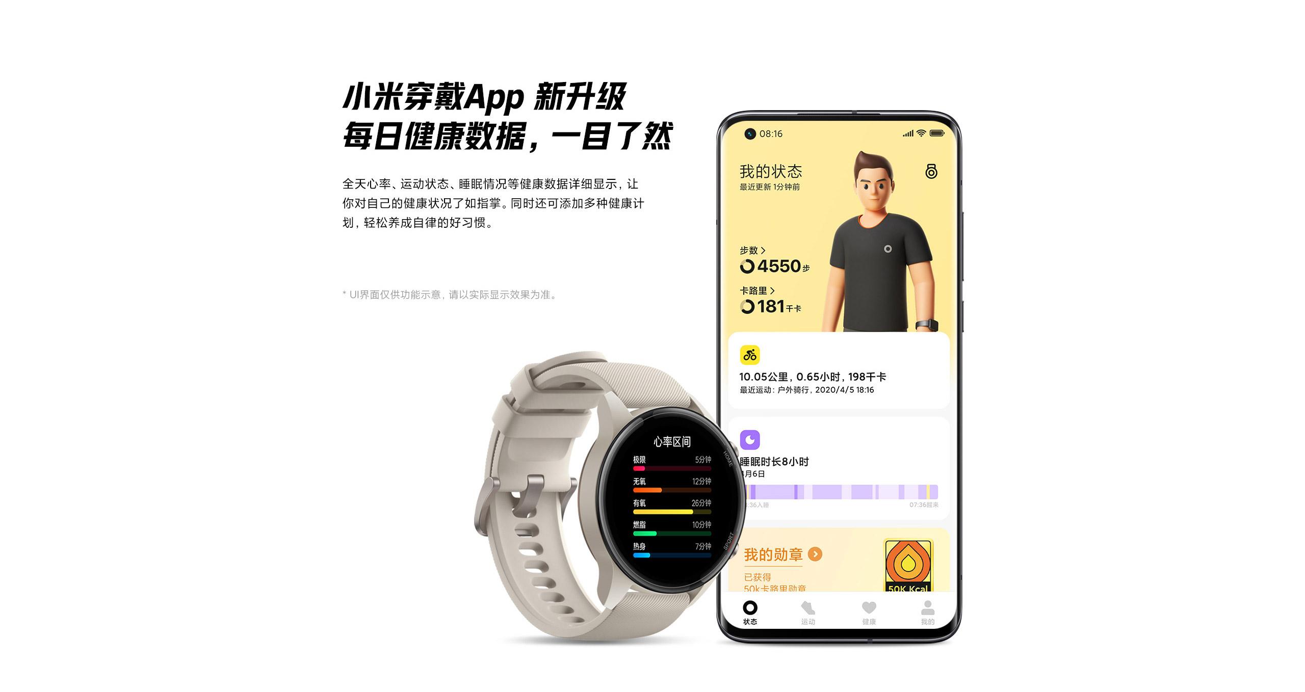 Xiaomi Color Sports Edition, más medición deportiva - Noticias Xiaomi